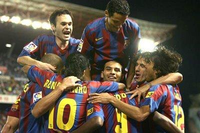 Parte de la escuadra destinada a hacer historia en el mundo del fútbol