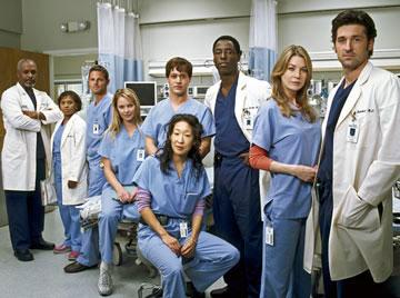 El cast al completo de Anatomía de Grey