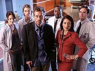 Los protagonistas de una de las mejores series de la temporada, House M.D.