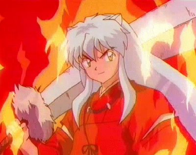 Inu-Yasha, la última (y exitosa, como todo lo que toca esta mangaka) creación de Rumiko Takahashi).