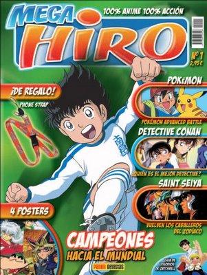 100% Anime 100% Acción es lo que nos presenta Mega Hiro