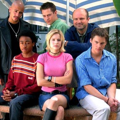 El cast de la serie Verónica Mars