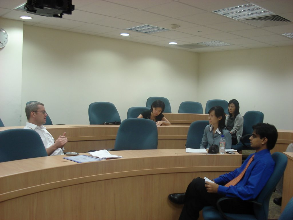 the VP of Alibaba meets NUS MBA students