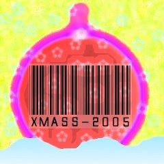 xmass barcode; vánoční čárový kód