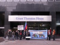 Here's a picket of a multinational by socialists in the UK