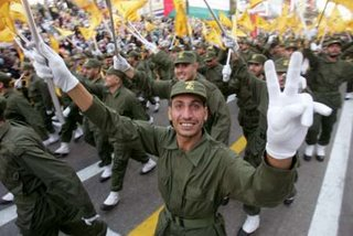Hezbollah march last year