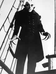 Bela Lugosi: early screen actor, seen here as Nosferatu: appropriately Lugosi appeared as a vampire in a film after he had died - what was the film?