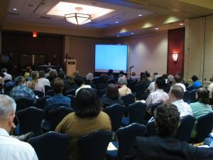 Claudia Conrad discussing FRBR.