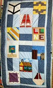 Photograph: Quilt 1 by Sue Burkhart.
