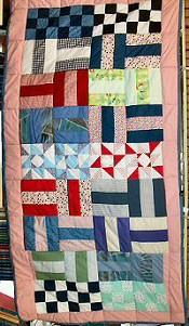 Photograph: Quilt 2 by Sue Burkhart.