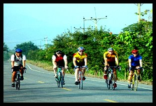 Cycling North to South Thailand
