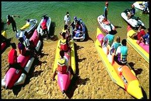 Banana Boats Pattaya Chonburi Thailand