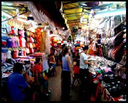 Patpong Street Market Bangkok Thailand
