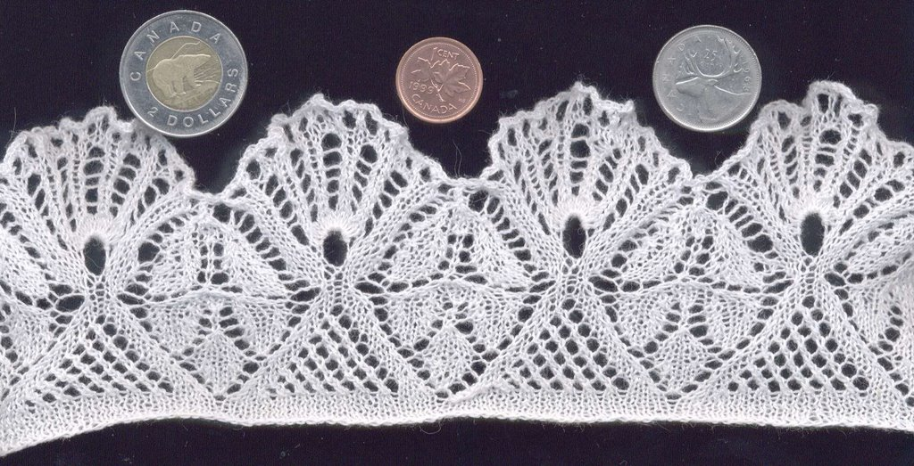 Two Sticks And Some String The Wedding Garter Pattern