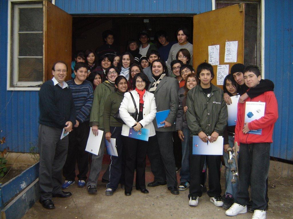 Seremi justicia santiago estudiantes de lo espejo con for Lo espejo 03450 san bernardo