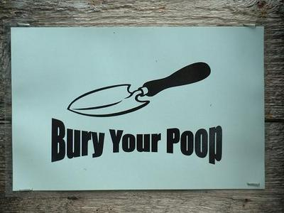 bury your poop
