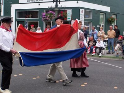 Dutch insurgents parade through Lynden