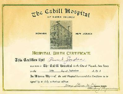 decorabilia: Jesus\'s birth certificate