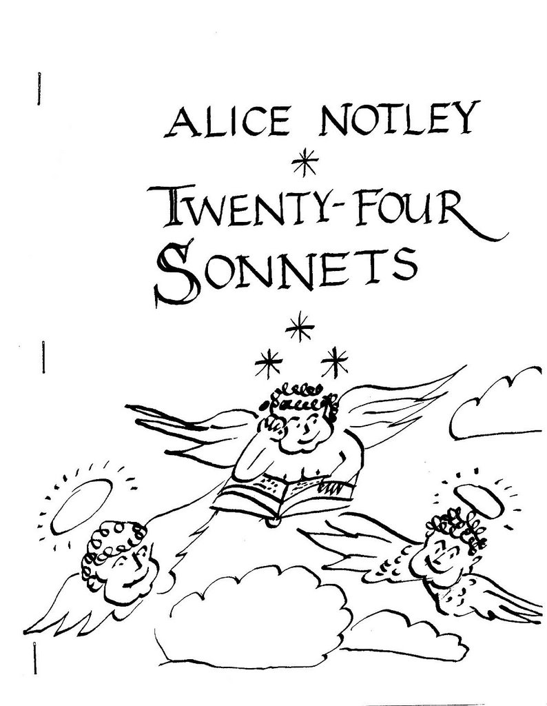 alice notley, cover of 165 meeting house lane