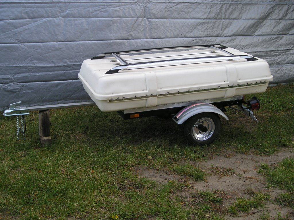 Motorcycle Blog By Silverwinger Homemade Cargo Trailer