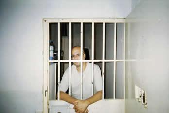Alí Lmrabet, durante una de sus estancias en prisiones marroquíes