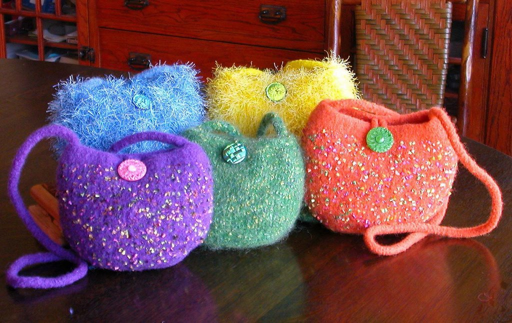 Felted Handbag Workshop Free Pattern The Balloon Bag