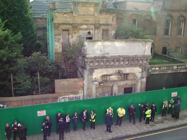 A world-famous heritage site laid bare by the axis of evil