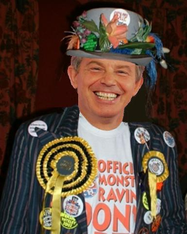 A Hope, Official Monster Raving Loony candidate