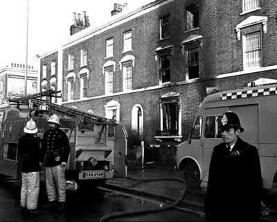The New Cross arson attack in 1981 when 14 young black Londoners lost their lives