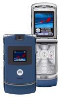 Motorola RAZR V3 Blue Review