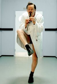 Mark Heap in Green Wing. Photo via www.gelfmagazine.com, courtesy Channel 4 International