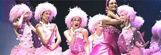 The Marshmallow Girls from Matthew Bourne's The Nutcracker. Photo: Tristram Kenton