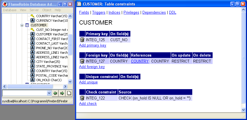 So many trails so little time porting the employee database from firebird 2 0 to mysql 5 1 - Alter table add foreign key ...