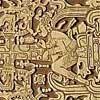 パレンケ遺跡の石棺のフタには、宇宙飛行士の姿が