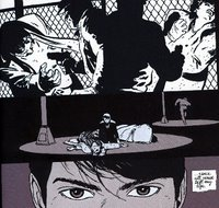 Escena de Batman: Year One, de F.Miller
