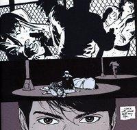 Escena de Batman: Year One, de F.Miller