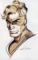 Boceto de Simonson para la Edición Especial de Manhunter