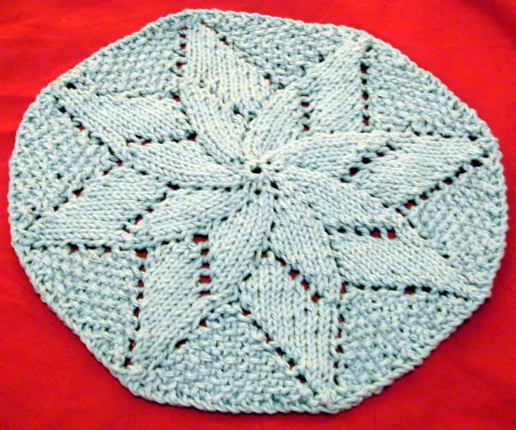 Knitting pattern round dishcloth gorinkfo for 45 knitting without dog hair is not an option march 2006 knitting pattern round dishcloth dt1010fo