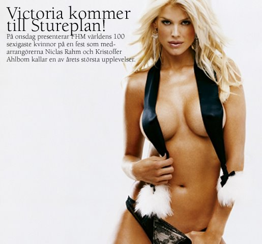 Consider, that Victoria silvstedt nu really. And