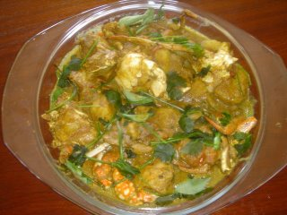 Crab Masala