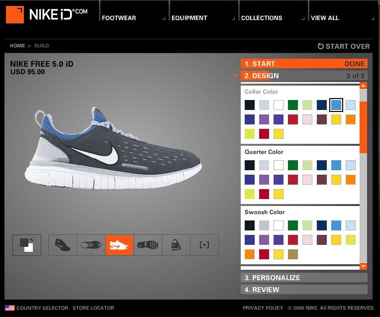 Dignan S 75 Year Plan Nike Free 5 0 Mass Customization Design Inspiration Your Own