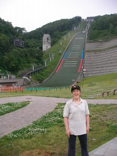 CA at Okurayama Ski Jump