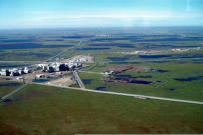 Oil Company Sprawl in Prudhoe Bay