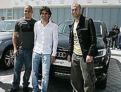 ronaldo02 Ronaldo fenômeno recebe mais um Audi bem barato pra usar de graça