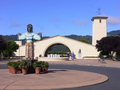 Mondavi Winery Entrance