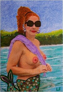 Click to Bid on this ACEO Collectible Art ATC Card!