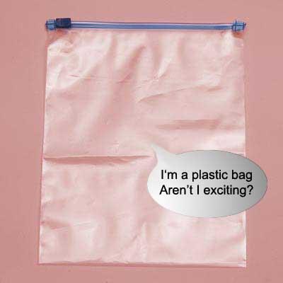 Zip Top Bags And Tiny Little Hair Elastics