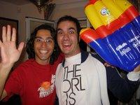 Raúl and me