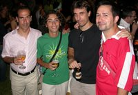 de Izq. a Dch. Jose Antonio Férnandez, Jaume Quiles, Israel Adsuar, Carlos Maciá