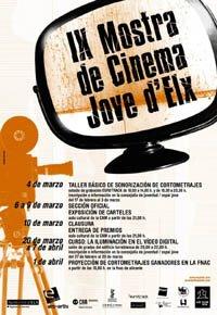 Cartel de la IX Mostra de Cinema Jove d'Elx